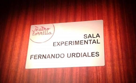 Sala experimental Fernando Urdiales en el Teatro Zorrilla de Valladolid.