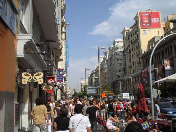 Gran Vía de Madrid. / Wikipedia.