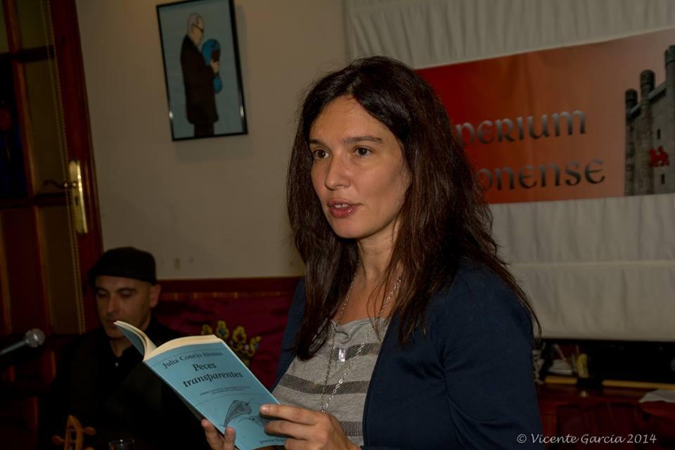 Julia Conejo en una fotografía de Vicente García.