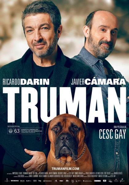 """Cartel de la película """"Truman"""", de Cesc Gay."""