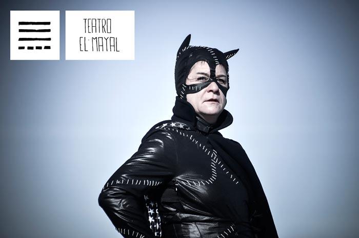 TESLA 10 / 2016 (Teatro El Mayal–ULE). El cartel es obra de Eduardo Fandiño.