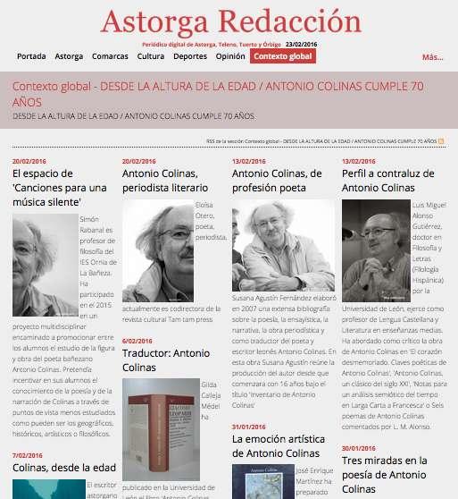 Antonio Colinas en astorgaredaccion.com