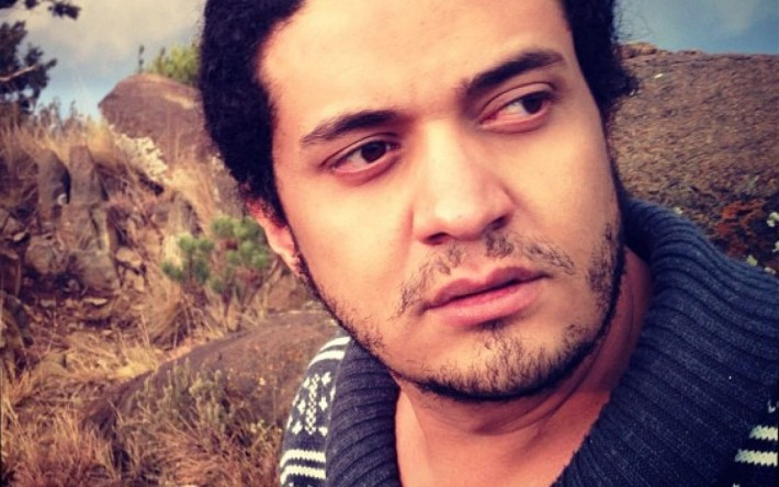 Ashraf Fayadh © Particular (Imagen tomada de la página de Amnistía Internacional).