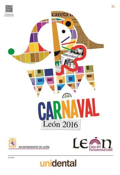 Cartel del Carnaval León 2016.