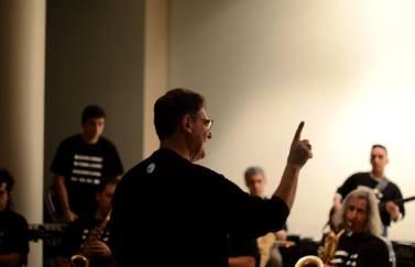 Ildefonso Rodríguez, conductor de Jaula 13, en el Festival TESLA 2016. Foto: Antonio G. Chamorro.