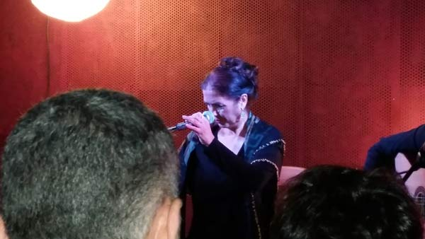 Lole Montoya en la sala Fun Club de Sevilla. Foto: I.M.