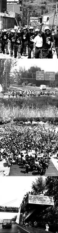 Marchas Negras. Fotografías de Norberto Cabezas.