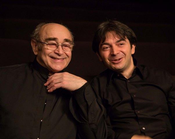 Alberto Portugheis y Stefano Greco. Fotografía: María Díez.