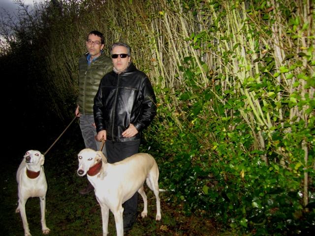 Los músicos leoneses Javier Iriso y Carlos Luxor.