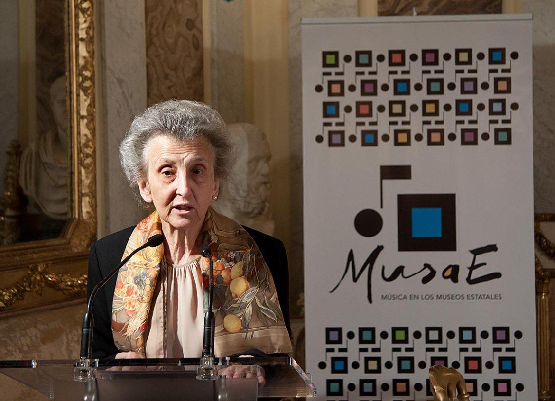 Margarita Morais, Presidenta de la Fundación Eutherpe.