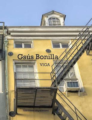 """Portada del poemario """"Viga ·de Gsús Bonilla."""