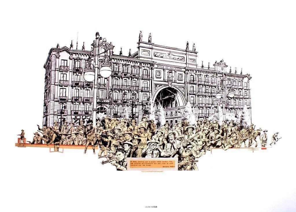 """Una de las obras que Julio Falagán incluirá en la exposición """"Creadores Abismo Humano""""."""