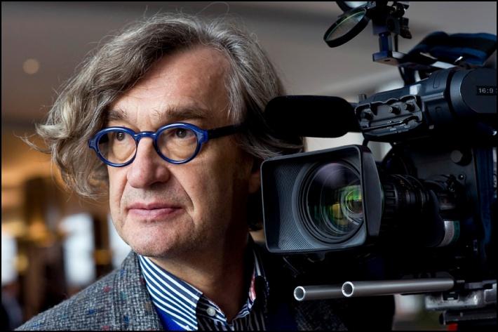 El director alemán Win Wenders.