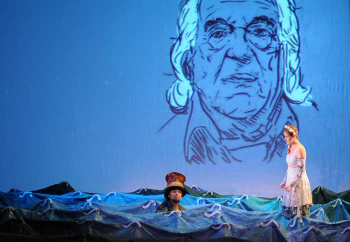 """Alberti, un mar de versos"" llega al Teatro Bergidum (Ponferrada)."