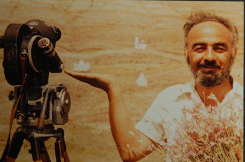 El director armenio Sergei Paradjanov.