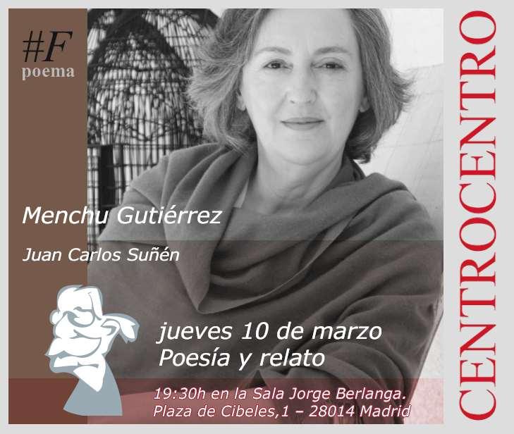 Menchu Gutiérrez en Favorables Taller Poema.