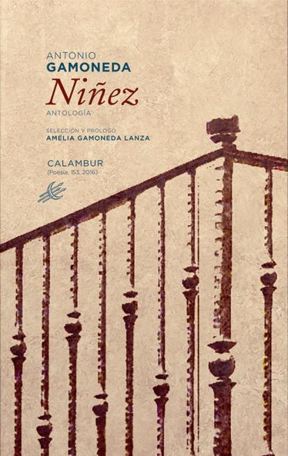 """Portada de """"Niñez"""", de Antonio Gamoneda."""