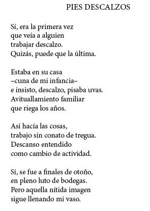 Poema de Abel Aparicio.