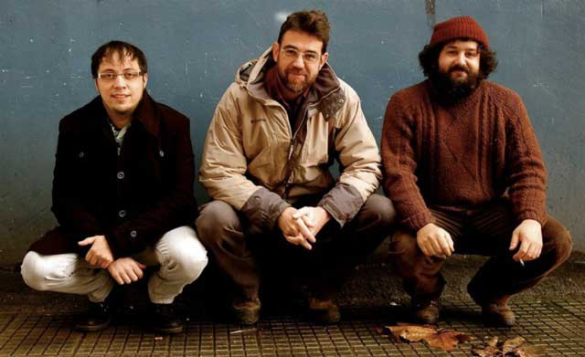 El trío asturiano Tuenda.