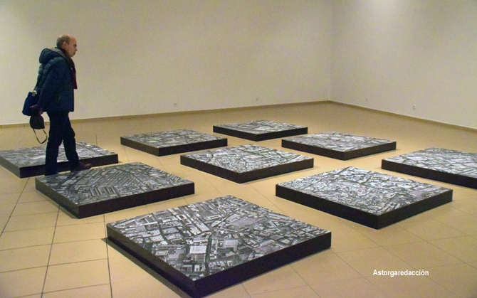 Exposición de Sebastián Román. Sala Provincia. © Fotografía: Eloy Rubio Carro.