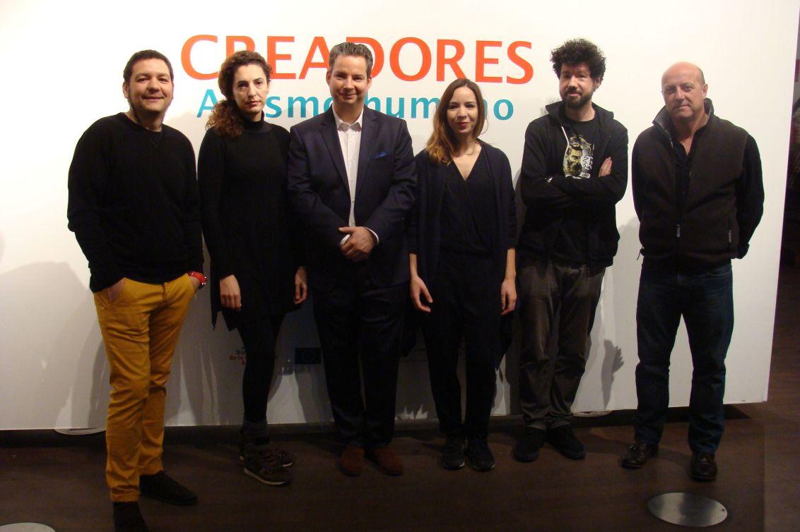 David del Bosque. Amaya Bombín, Lucas Cuturi, Patricia Sandonis, Julio Falagán y Germán Sinova. Fotografía: Laura Fraile
