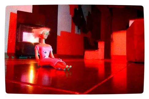 Andrea Soto en el salón de Pi. © Fotografías: Antonio G. Chamorro.