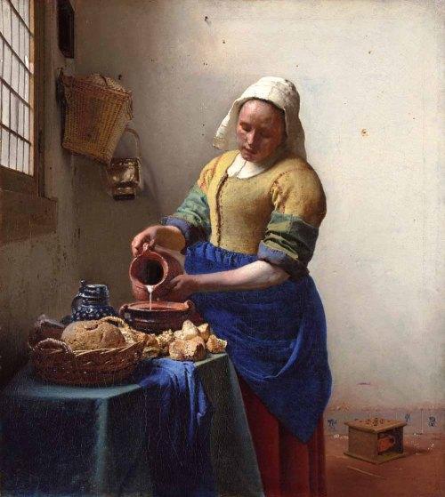 """La lechera"", un cuadro de Johannes Vermeer"