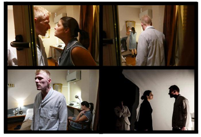 Manuel AO y Andrea Soto en Beat Room Hotel. © Fotografías: Alberto Alba. // © Fotografía: DW.
