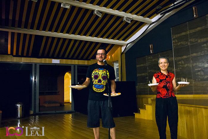 Alfredo Escapa y Marta Alaiz (somos peces). © Fotografía: Javier Pino.