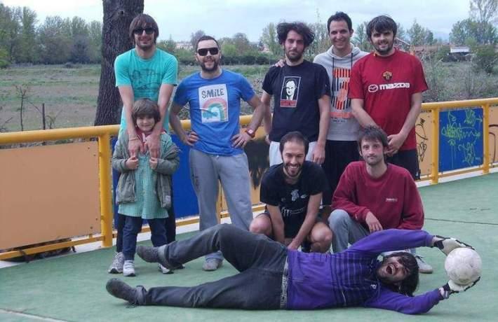 Varios de los integrantes de Barbril. Fotografía: Barbril.