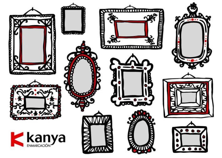 Kanya Enmarcación. Ilustración de Pablo García (Pablo Je Je).