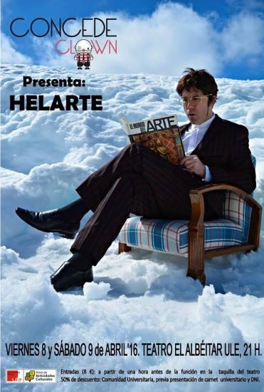 """""""Helarte"""". Concedeclown."""