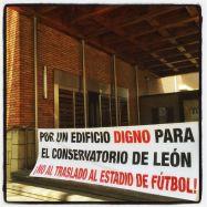 """Campaña """"NO nos vamos al estadio""""."""