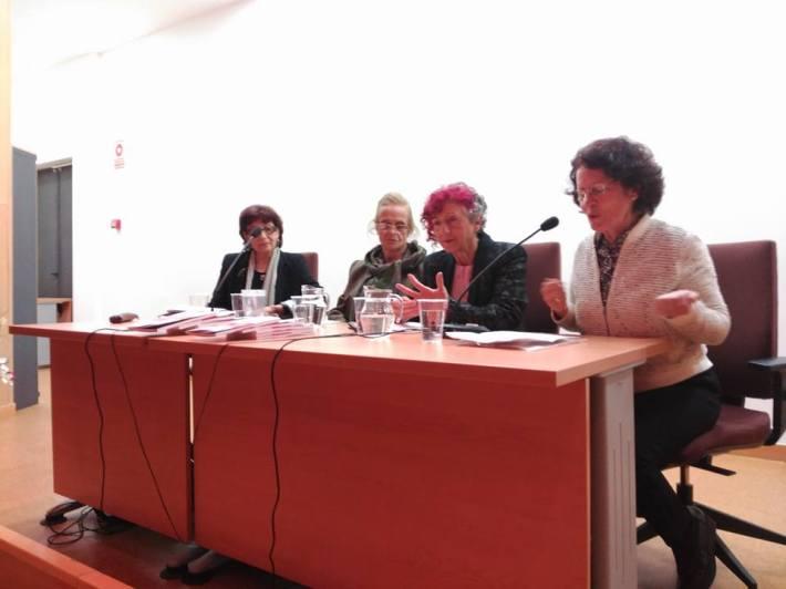 Foto de la presentación. Fundación Centro de Poesía José Hierro.