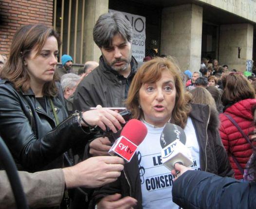 La directora del Conservatorio, María Jesús Astorga.