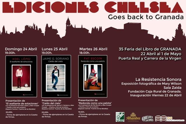 Cartel Ediciones Chelsea.
