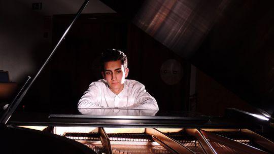 El pianista leonés Daniel Pacho Villacorta.