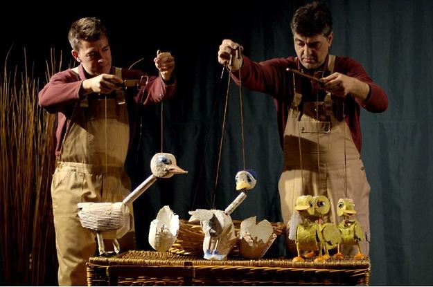 """""""El Patito Feo"""". El Teatro de las Marvillas."""