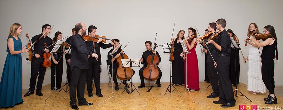Camerata de la Joven Orquesta Leonesa.