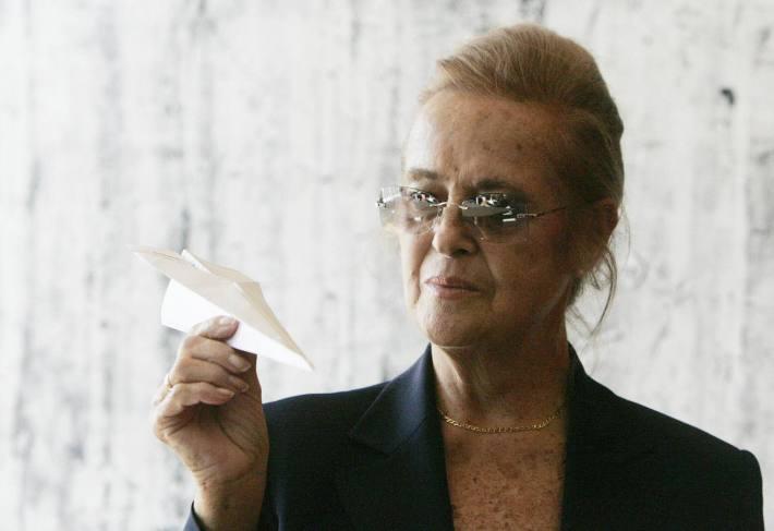 María Victoria Atencia. © Fotografía: Fernando González (diariosur.es)