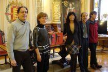 Miguel Ángel Pérez, Ana Gallego, Ana Redondo, Isaac Macho y Ángel Sánchez. Foto: L. Fraile