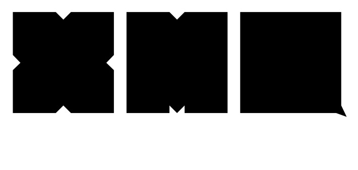 Logo de Ex Máquina, la banda de Producciones Infames. Autor: Jerry Garcia.