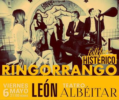 El cartel de Ringorrango en El Albéitar.