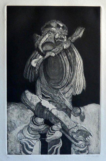 """""""Composición"""". Lucio Muñoz. 1975."""
