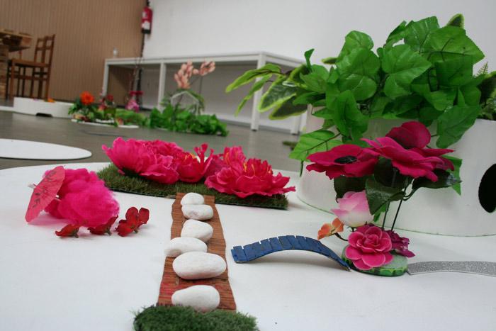 """""""Archipiélagos"""", dentro del proyecto genérico de """"Jardines efímeros"""" de Calamar Teatro. © Fotografía: Juan A. Berzal."""