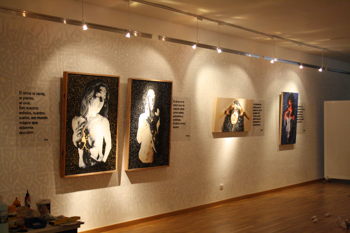 "Obras de la exposición ""Expiración"" en Cearcal. Foto: Ana Blanco."
