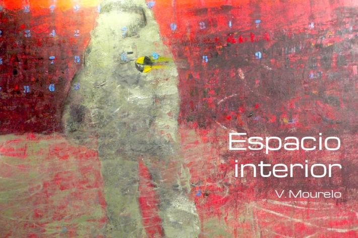 """Secuela de """"Stand by Pass"""", expuesta por vez primera en la Galería Juan Manuel Lumbreras de Bilbao dentro de la muestra """"Homenaje a Tapies"""" y argumentario principal que sirve de base a esta nueva serie, """"Espacio interior"""", y que sienta las bases de la nueva propuesta artística de Vázquez Mourelo."""