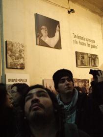 Escotilla 8 del Estadio Nacional, por donde se trasladaba a los presos al interior del recinto. Foto: Alfonso F. Reca.