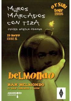 Presentación en el Belmondo.