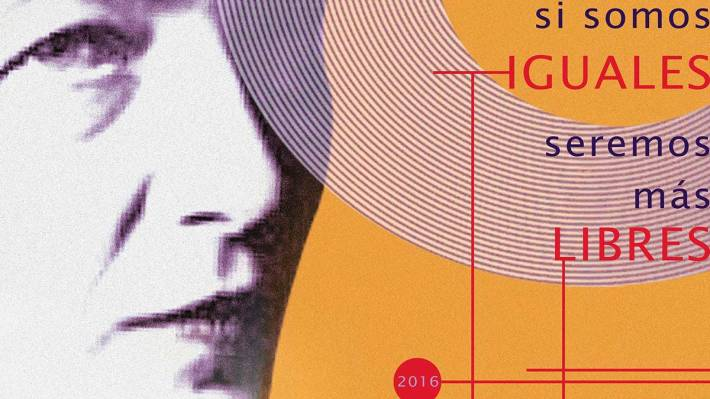 Cartel-30-aniversario Simone de Beauvoir.